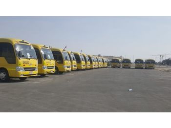 TOYOTA Coaster - / - Hyundai County ..... 32 seats ...6 Buses available - mikroautobuss