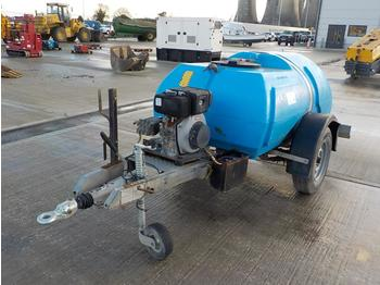 2014 Bowser Supply Single Axle Plastic Water Bowser, Pressure Washer - gaisa kompresors