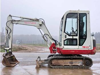 Takeuchi TB125 CE + EPA  - mini-ekskavators