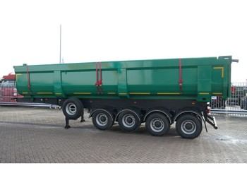 Puspiekabe pašizgāzējs Mitra 4 AXLE NEW HEAVY DUTY TIPPER TRAILER