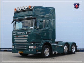 Scania R560 LA6X2/4MNB | V8 | 8T | Leather seats | Navi | PTO | Hydraulic - vilcējs